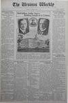 The Ursinus Weekly, September 12, 1932