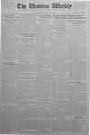 The Ursinus Weekly, October 10, 1932