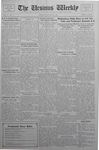 The Ursinus Weekly, October 24, 1932
