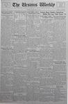The Ursinus Weekly, October 31, 1932