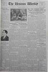 The Ursinus Weekly, November 7, 1932