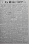 The Ursinus Weekly, January 9, 1933