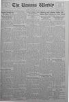 The Ursinus Weekly, January 16, 1933