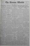 The Ursinus Weekly, February 6, 1933