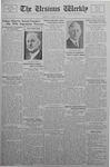 The Ursinus Weekly, February 27, 1933