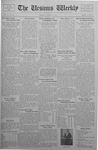 The Ursinus Weekly, March 13, 1933