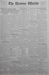 The Ursinus Weekly, March 27, 1933