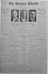The Ursinus Weekly, April 3, 1933