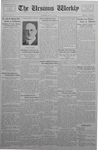 The Ursinus Weekly, May 22, 1933