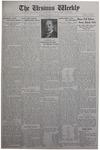The Ursinus Weekly, November 23, 1931 by E. Earle Stibitz, Eveline B. Omwake, and George Leslie Omwake