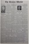 The Ursinus Weekly, February 22, 1932