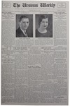 The Ursinus Weekly, May 23, 1932
