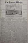 The Ursinus Weekly, September 15, 1930 by Stanley Omwake and George Leslie Omwake