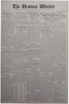 The Ursinus Weekly, October 13, 1930