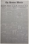 The Ursinus Weekly, October 20, 1930
