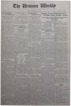 The Ursinus Weekly, October 27, 1930 by Stanley Omwake, George Leslie Omwake, and Eleanor C. Usinger