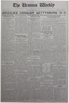 The Ursinus Weekly, November 3, 1930 by Stanley Omwake, George Leslie Omwake, and James John Herron