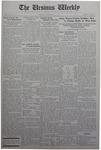 The Ursinus Weekly, November 24, 1930 by Stanley Omwake, Eleanor C. Usinger, and George Leslie Omwake