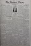 The Ursinus Weekly, December 15, 1930 by Stanley Omwake, James John Herron, and George Leslie Omwake