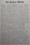 The Ursinus Weekly, February 16, 1931 by Stanley Omwake, Warren K. Hess, and George Leslie Omwake