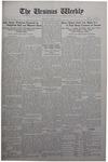 The Ursinus Weekly, April 20, 1931
