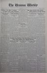 The Ursinus Weekly, May 18, 1931
