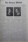 The Ursinus Weekly, June 1, 1931