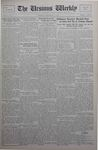 The Ursinus Weekly, September 30, 1929