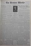 The Ursinus Weekly, October 14, 1929