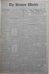 The Ursinus Weekly, October 21, 1929