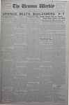 The Ursinus Weekly, October 28, 1929