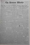 The Ursinus Weekly, November 4, 1929 by Calvin D. Yost and George Leslie Omwake