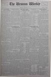 The Ursinus Weekly, November 25, 1929
