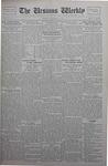 The Ursinus Weekly, December 9, 1929