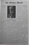 The Ursinus Weekly, December 16, 1929 by Calvin D. Yost, Stanley Omwake, and George Leslie Omwake