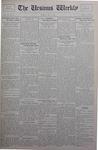 The Ursinus Weekly, May 5, 1930 by Stanley Omwake, Warren K. Hess, and George Leslie Omwake
