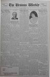 The Ursinus Weekly, October 1, 1928 by C. Richard Snyder, Malcolm E. Barr, Henry Alden, and George Leslie Omwake