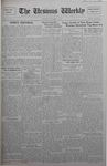 The Ursinus Weekly, October 8, 1928 by C. Richard Snyder, Malcolm E. Barr, Nelson M. Bortz, and George Leslie Omwake