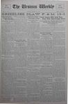 The Ursinus Weekly, October 15, 1928 by C. Richard Snyder, Malcolm E. Barr, Mary Oberlin, and George Leslie Omwake