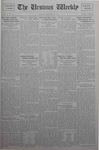 The Ursinus Weekly, November 26, 1928 by C. Richard Snyder, Malcolm E. Barr, Henry Alden, and George Leslie Omwake