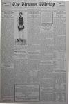 The Ursinus Weekly, December 17, 1928