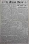 The Ursinus Weekly, January 14, 1929