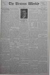 The Ursinus Weekly, February 25, 1929