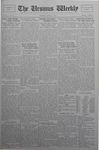 The Ursinus Weekly, April 22, 1929