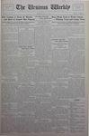 The Ursinus Weekly, May 13, 1929