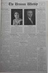 The Ursinus Weekly, June 3, 1929 by Calvin D. Yost, Albert Stoler Thompson, and George Leslie Omwake