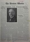 The Ursinus Weekly, September 19, 1927 by Charles H. Engle and George Leslie Omwake