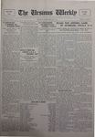 The Ursinus Weekly, September 26, 1927 by Charles H. Engle and George Leslie Omwake