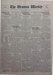 The Ursinus Weekly, October 24, 1927