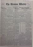 The Ursinus Weekly, November 7, 1927